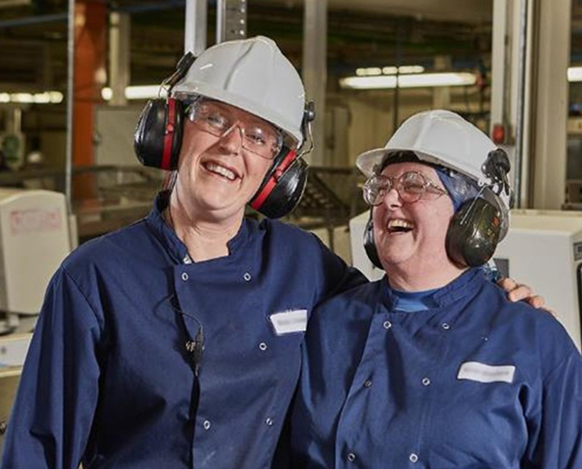 Mccain foods gb employees in factory