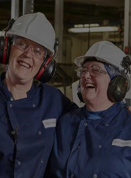 Mccain foods employees in factory