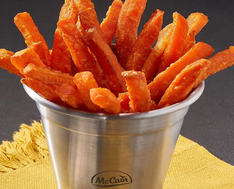 Mccain foods sweet potato fries