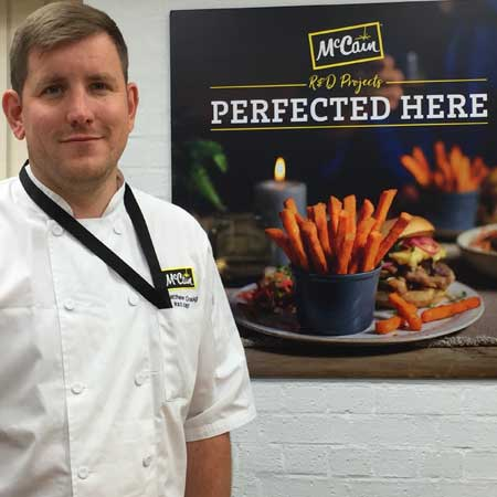 Mccain foods gb innovation chef