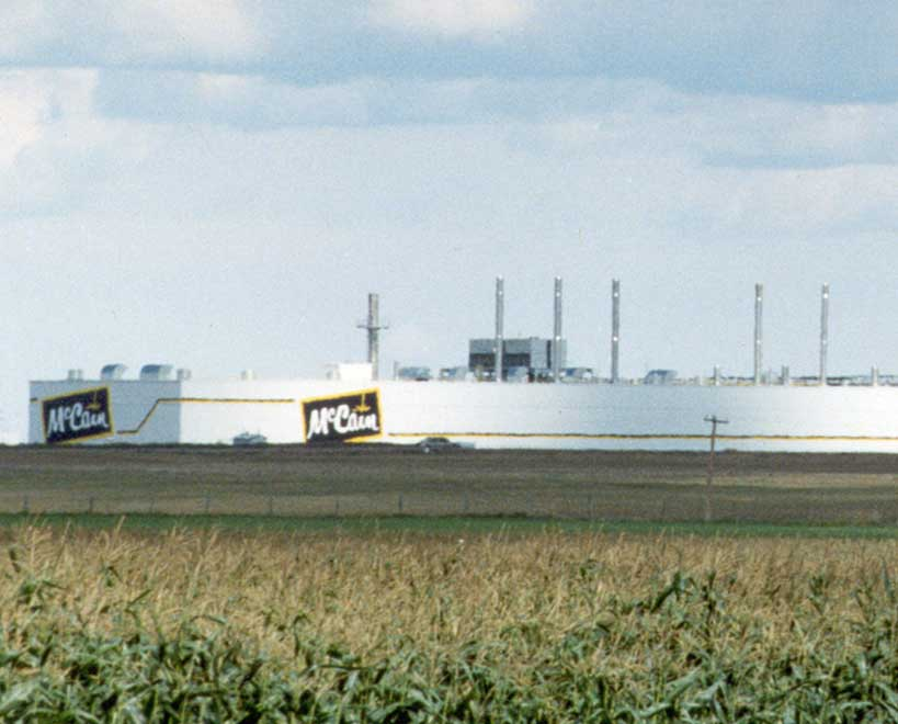 Mccain foods factory