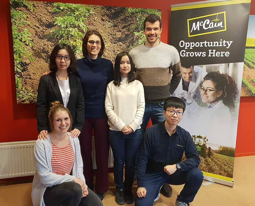 Mccain foods interns agriculture