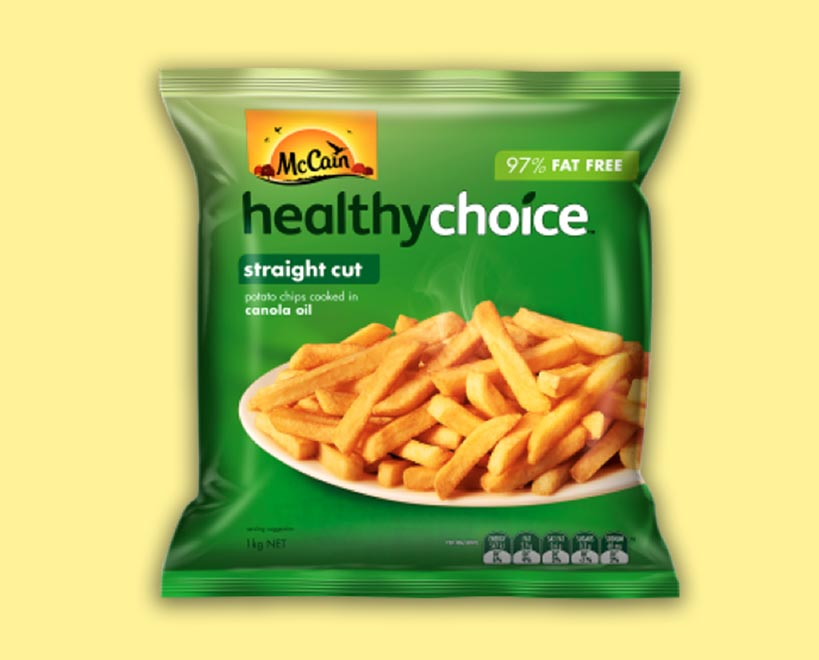 McCain healthy choice fries