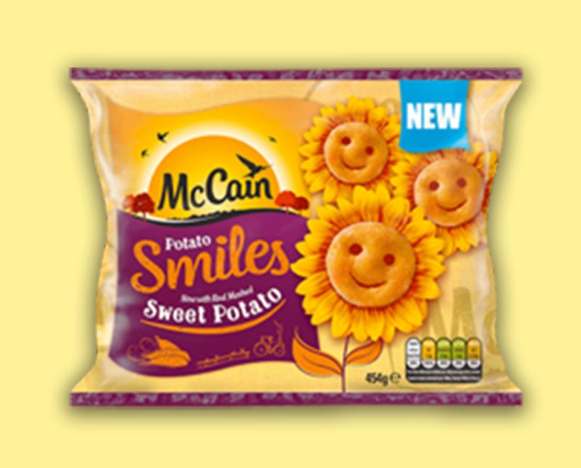 McCain sweet potato Smiles