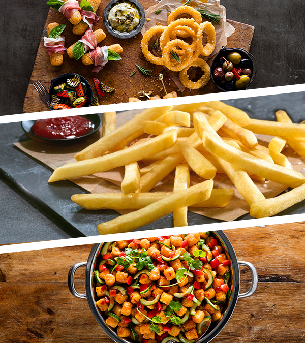 Passion for Food - Selection of McCain Food offerings Mobile Header.jpg